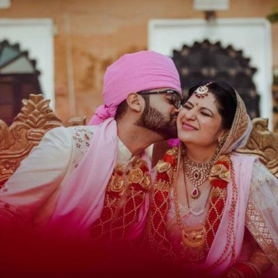 Wedding of Richa & Mohit at Deogarh Mahal by Aroyalaffair