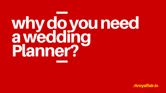do I need a wedding Planner_