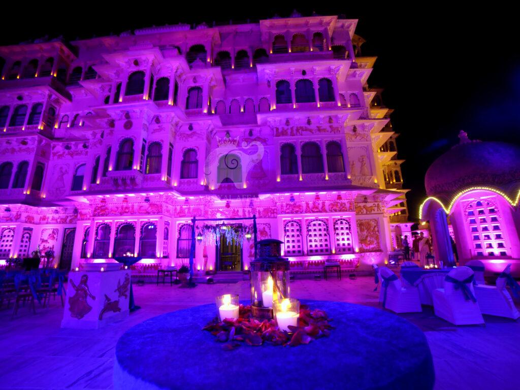 Chunda Palace Wedding View