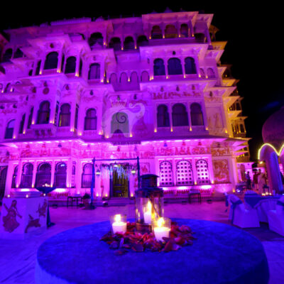 How much does a wedding at Chunda Palace Udaipur Cost?