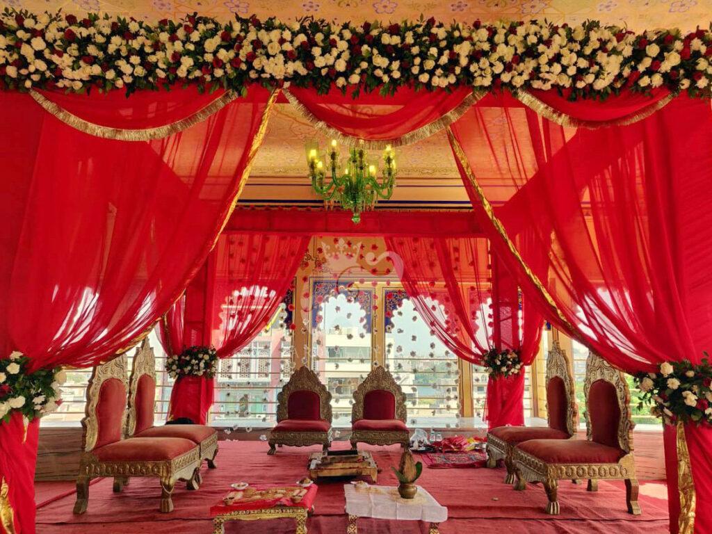 Wedding Mandap Chunda Palace
